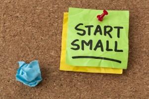 save little money start small