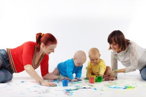 save on child care parent share