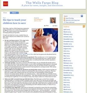 top bank blogs wells fargo