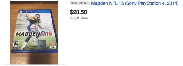 used video games lose value madden