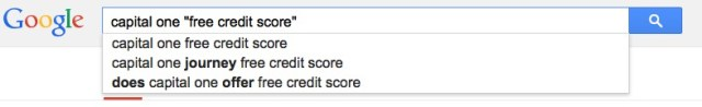 find your credit score search free bank capital one google