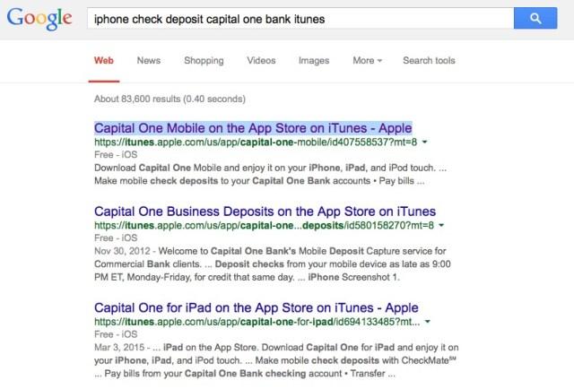 iphone check deposit app bank