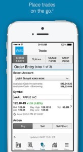 iphone trade stocks app charles schwab