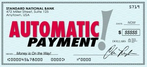 late payment affect credit score automatic payment