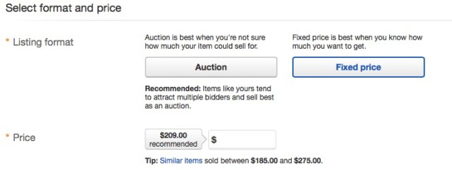 sell on ebay fixed price ebay suggest