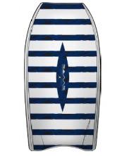 shark repellent body board sticker