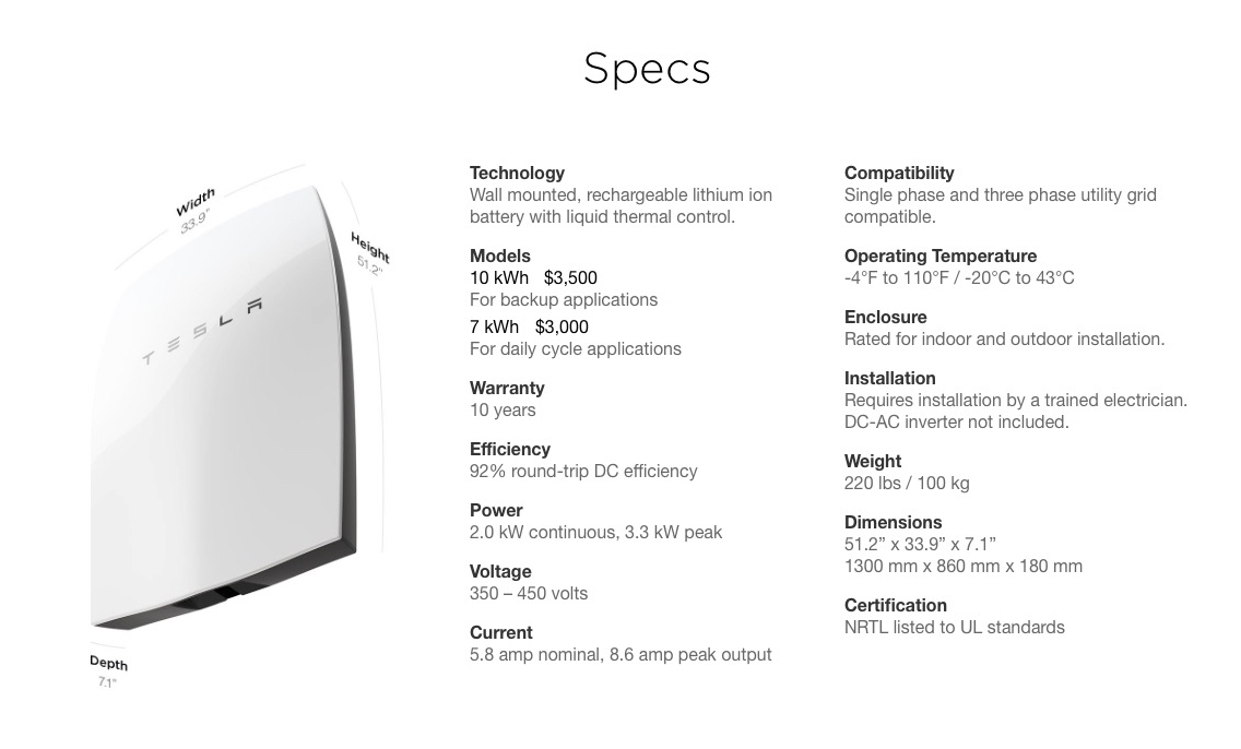 Tesla Powerwall Cost >> 3 Ways A Tesla Powerwall Could Save You Money Money Nation