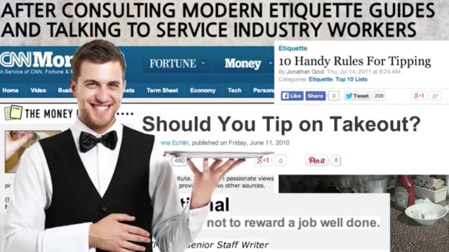 how much should you tip tipping