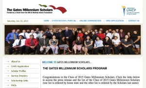 big scholarships gates foundation
