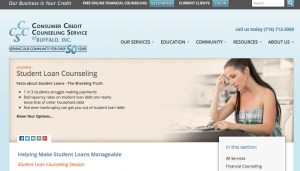 consumer credit counseling student loan debt