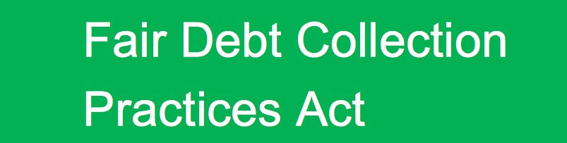 report debt collectors fair debt collection practices act fdcpa