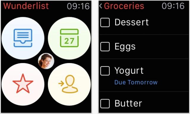 iphone apps to save money wunderlist apple watch