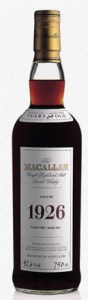 macallan 1926 most expensive whiskey