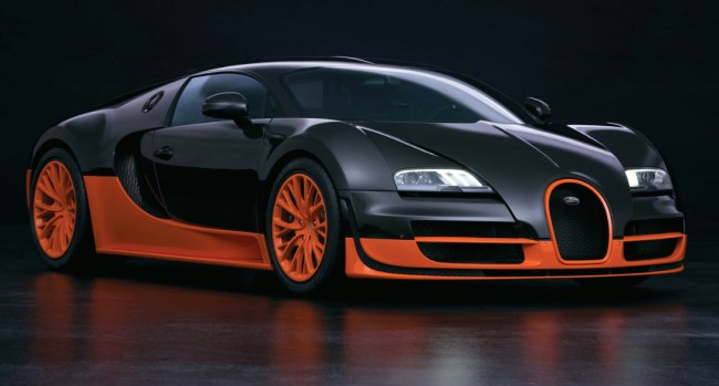 most expensive car bugatti veyron