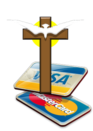 Message Monday – Credit Cards Are Against My Religion