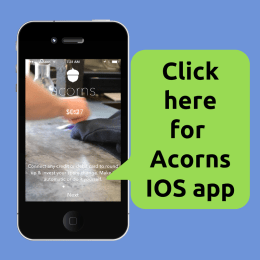 Download Acorns App for iPhone IOS
