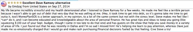 Alternative to Dave Ramsey radio