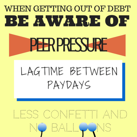 What you need to know when getting out of debt