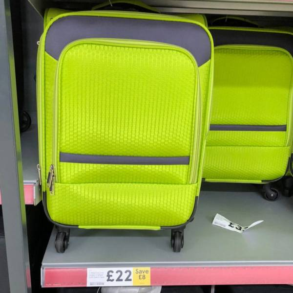 Tesco Lightweight Suitcase and Luggage Sale – Money Saver ...