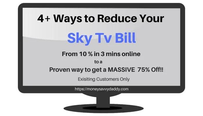 Reduce Sky TV Bill
