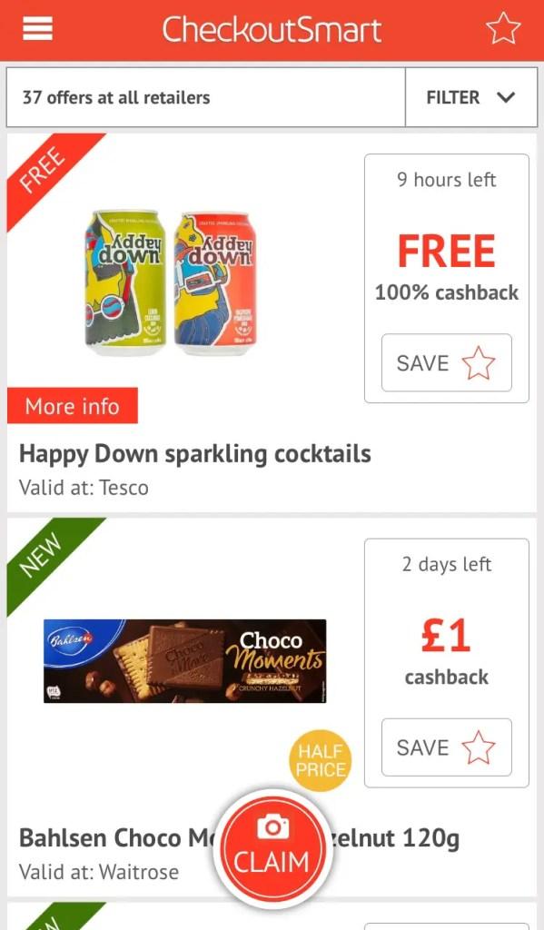 CheckoutSmart Offers - Cashback Offers