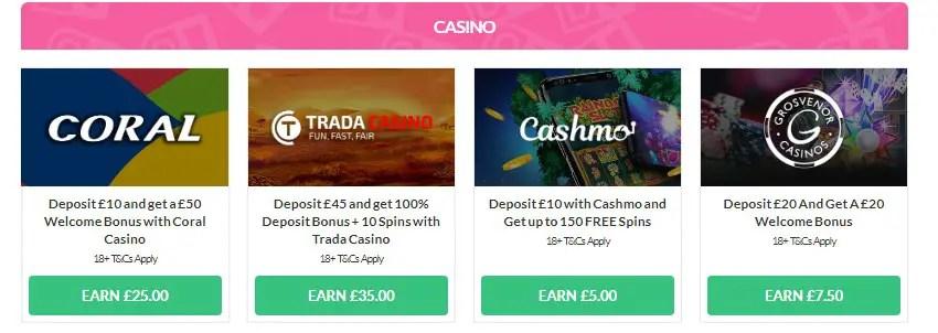 OhMyDosh Casino Offers
