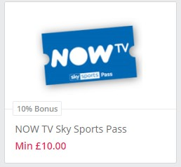 Cheap Now Tv Pass