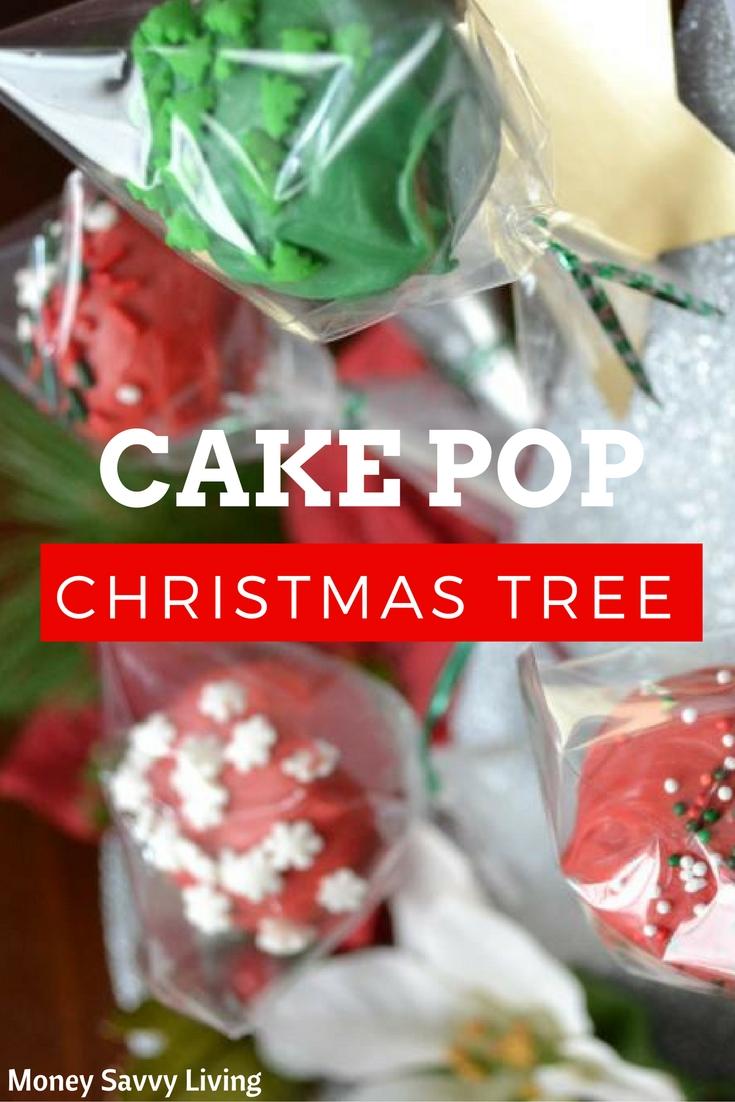 Cake Pop Christmas Tree | Money Savvy Living
