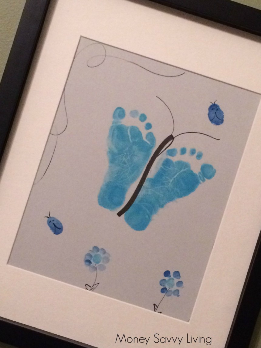 Blue Footprint Keepsake | Money Savvy Liivng