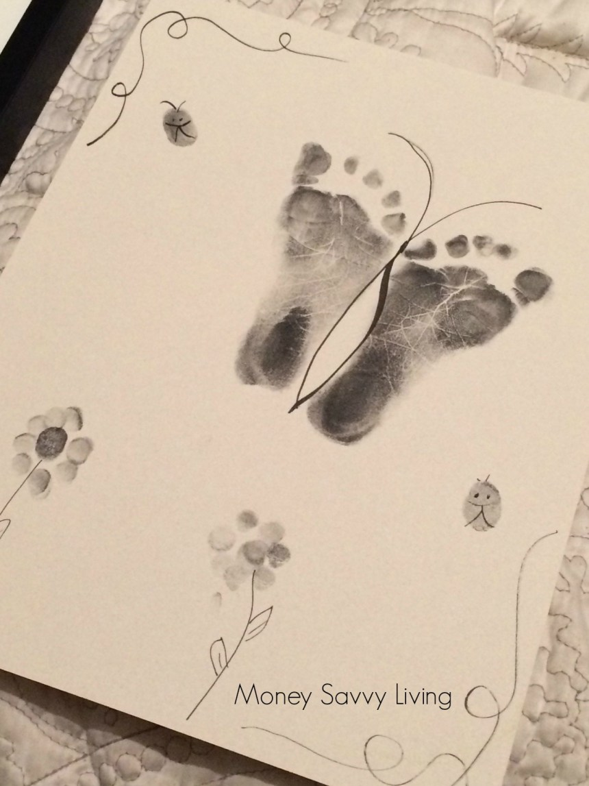 Footprint Keepsake | Money Savvy Living