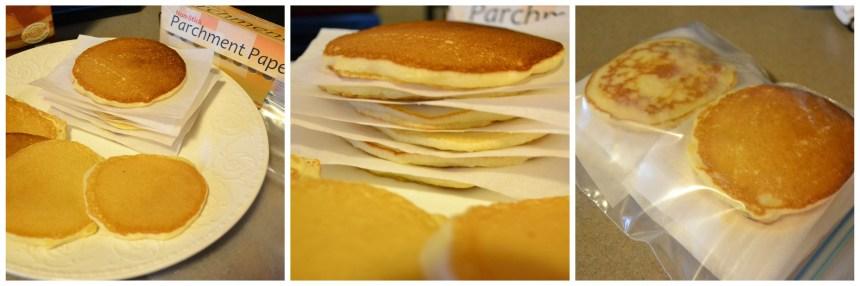 Homemade Gluten Free Freezer Pancakes   Money Savvy Living