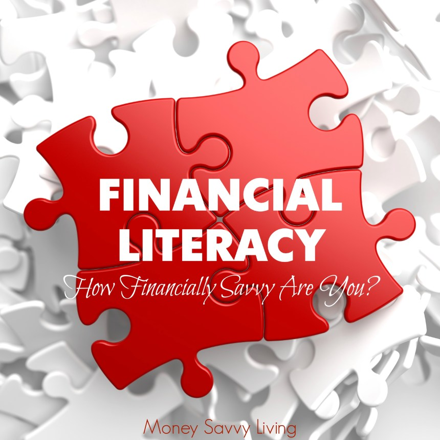 Financial Literacy Month | Money Savvy Living