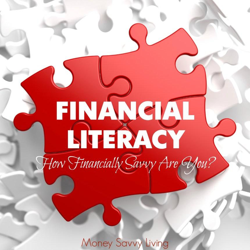Financial Literacy Month | Money Savvy Living