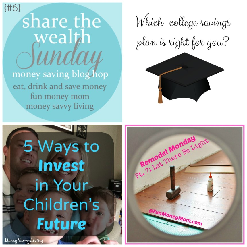 Share The Wealth Sunday {#6} | Money Savvy Living