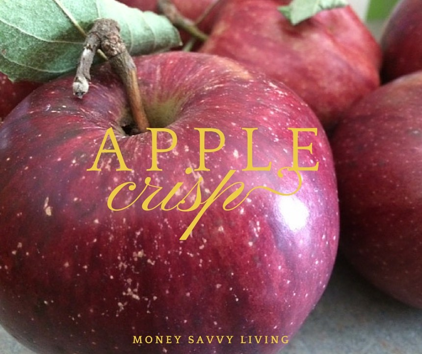 Apple Crisp | Money Savvy Living