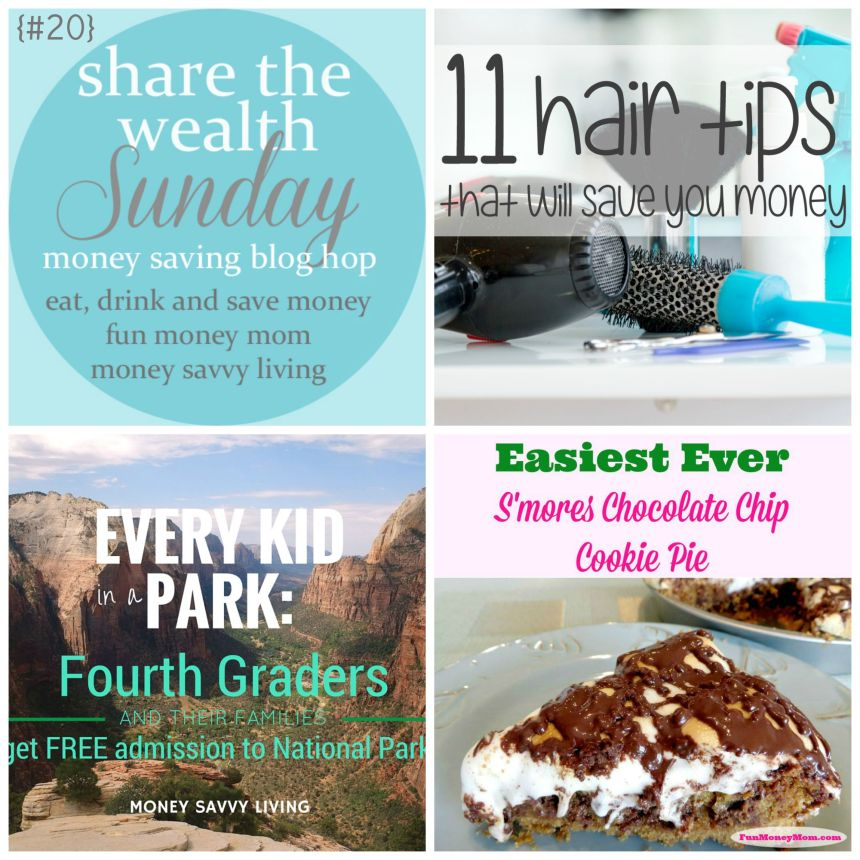 Share the Wealth Sunday 20 | Money Savvy Living