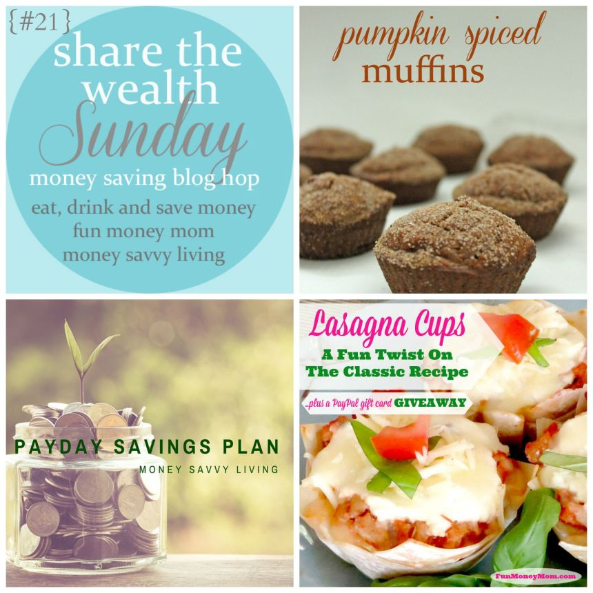 Share the Wealth Sunday 21 | Money Savvy Living
