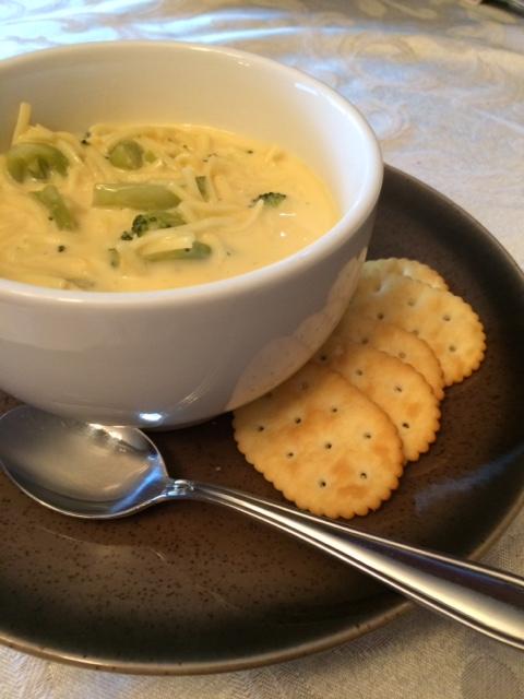 Broccoli Cheese Noodle Soup: Quick, Easy, & Delicious