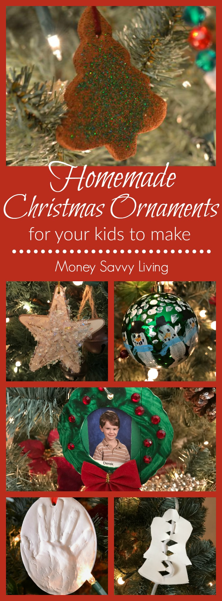 Christmas Ornaments that Your Kids Can Make that You Will Actually Want on Your Tree - Money ...