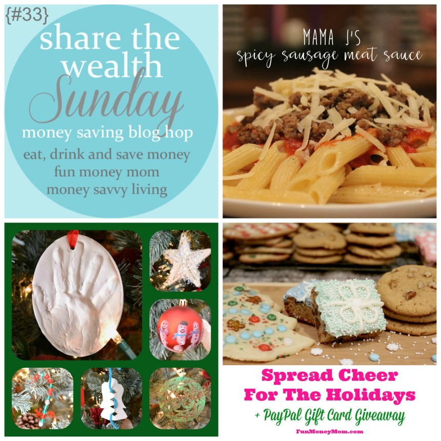 Share The Wealth Sunday 33 | Money Savvy Living