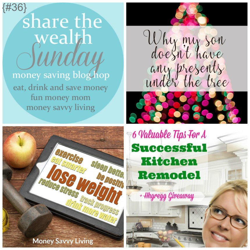 Share The Wealth Sunday 36 | Money Savvy Living