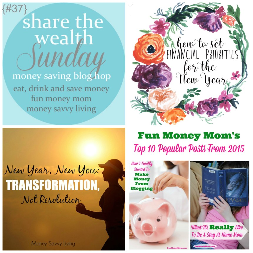 Share The Wealth Sunday 37 | Money Savvy Living