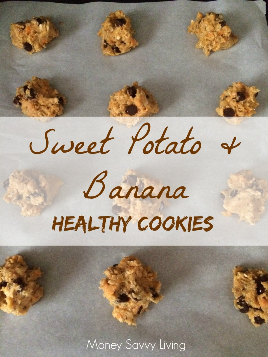 Sweet Potato and Banana Cookies