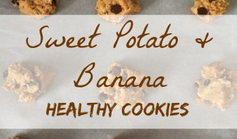 Sweet Potato and Banana Cookies