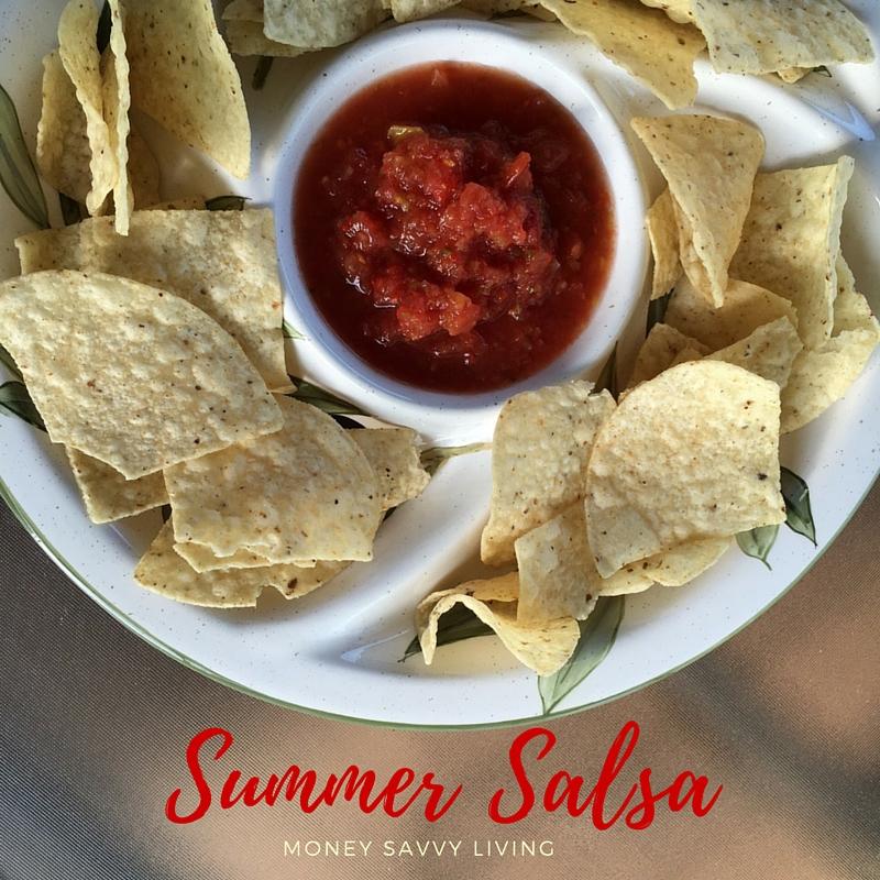 Summer Salsa | Money Savvy Living