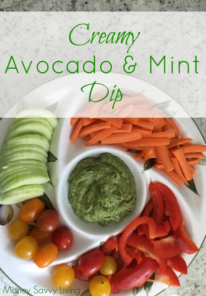 Avocado Mint Dip 3
