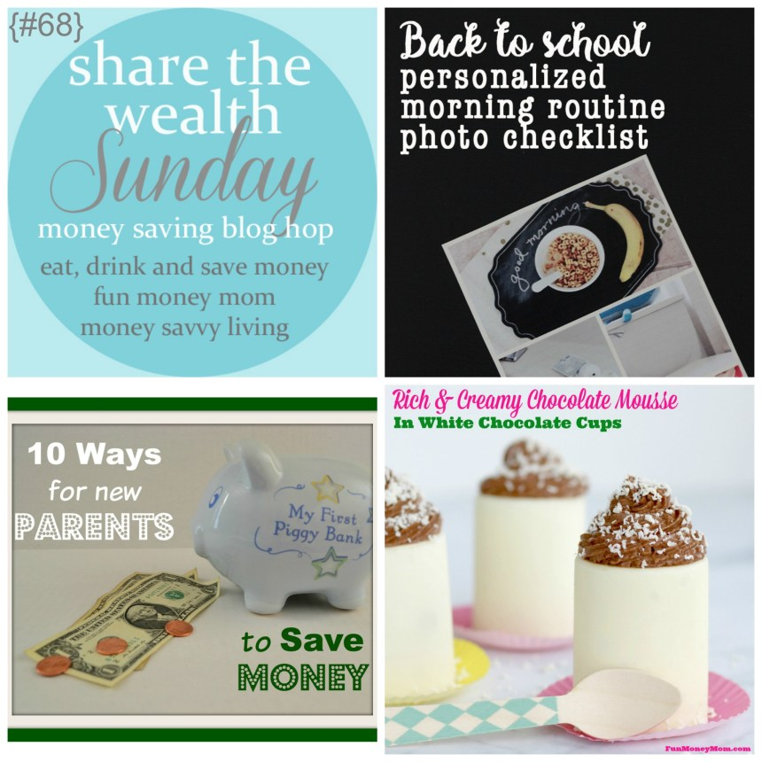 Share The Wealth Sunday 68 | Money Savvy Living