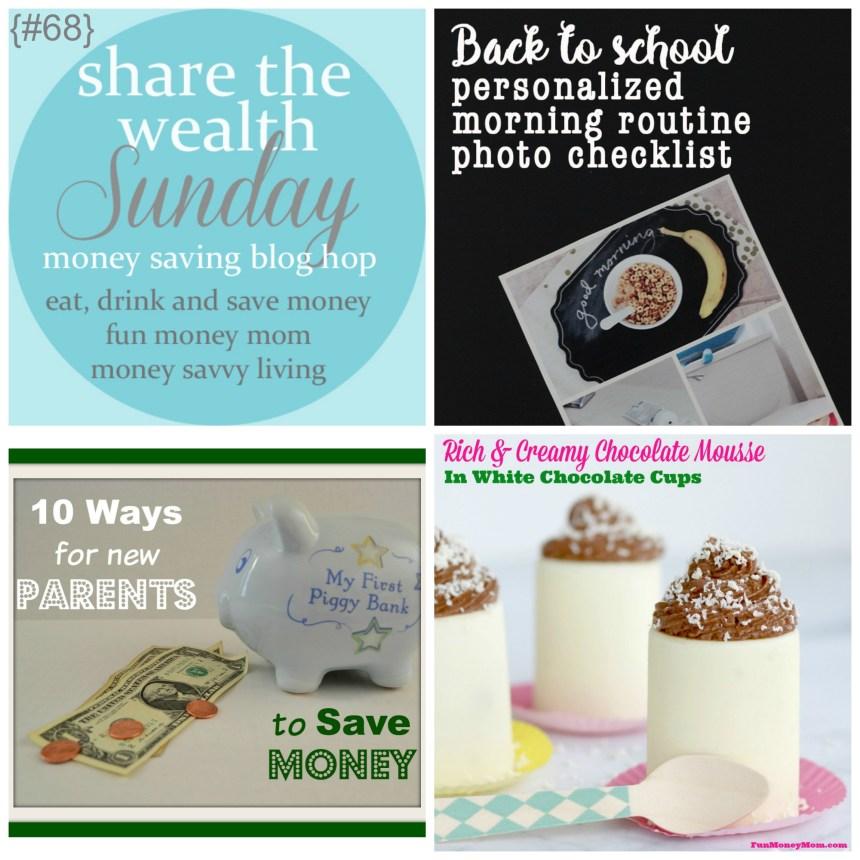 Share The Wealth Sunday 68   Money Savvy Living