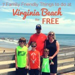 7 Family Friendly Things to do at Virginia Beach that are Absolutely FREE