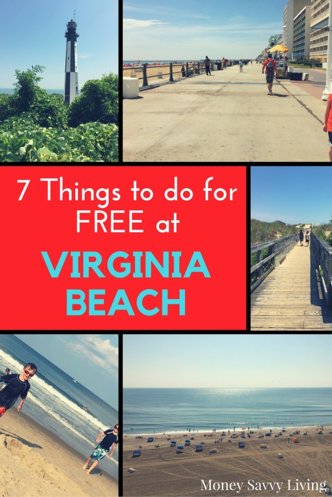 7 Family Friendly Things to do at Virginia Beach that are Absolutely FREE #VAbeach #virginiabeach #beachvacation #frugalbeachvacation #cheapbeachvacation #cheapvacation #familyfriendlyvacation #familyvacation #cheapvacation #vacationideas #moneysavingideas